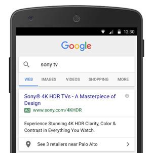 Google Affiliate Location Extensions